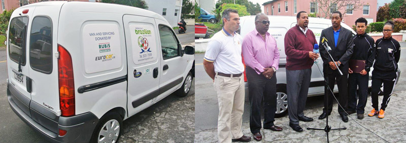 Bermuda's Brazilian Football School (BBFS) Community Program Vehicle